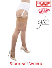 GIO RHT Stockings / Nylons - Natural - imperfects TALL NEW