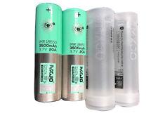 2pcs MXJO 18650 3.7V 3500MAH 20A High Drain Recharge Battery