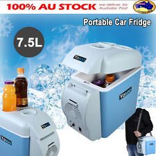 Portable 7.5L Mini Car Fridge 12V Cooler Warmer Travel Camping Boat Refrigerator
