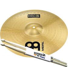"MEINL HCS Crash/Ride Becken 18"" + 5A Keepdrum Drumsticks"