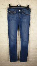 TRUE RELIGION Slim Straight Ladies Jeans Size: W 28 L 33 VERY GOOD Condition