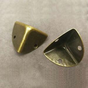 8pc Metal Corner Angle Brace Protectors for Wood Chest Trunk Box Case Flightcase