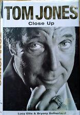 TOM JONES - CLOSE UP - LUCY ELLIS & B. SUTHERLAND - HARDBACK WITH DUST JACKET