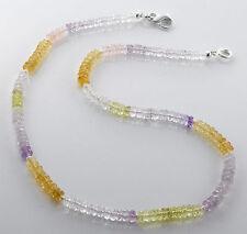 Echtschmuck-Halsketten & -Anhänger aus Sterlingsilber mit Rosenquarz für Damen
