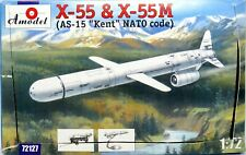 1/72 AMODEL 72127 X-55 & X-55M (AS-15 KENT NATO Code) Missile Rocket FREE SHIP