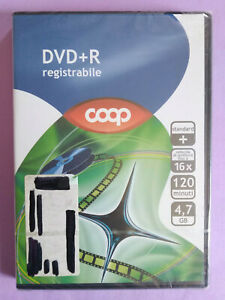 DVD Film Ita COOP DVD+R Registrabile 16x 4,7 gb Vergine Sigillato no cd vhs (T2)