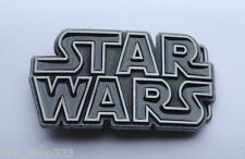NEW design Original STAR WARS metal logo belt buckle Black Pewter color Cosplay
