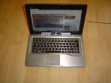 Fujitsu Stylistic Q702 Tablet laptop i5 1.8, 4GB, 256GB SSD Win 10 Pro OK Ref C3