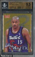 1998-99 Fleer Brilliants Gold Vince Carter RC Rookie 81/99 BGS 9.5 GEM MINT