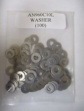 AN960C10L #10 Stainless Steel Flat Washer 3/16