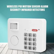 Wireless Password PIR Motion Sensor Alarm Home Security Door Window Garage Shed