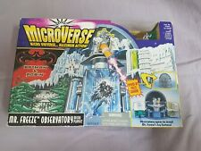 Batman & Robin Microverse Mr. Freeze Observatory Micro Playset Kenner Neu 1997