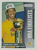 2019-20 Panini Prizm NBA FINALISTS #4 KAREEM ABDUL-JABBAR Los Angeles Lakers HOF