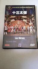 """DVD """"LOS HEROES"""" PRECINTADO SEALED SHAW BROTHERS CHANG CHEH DAVID CHIANG"""