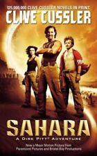 SAHARA: A Dirk Pitt Adventure by Clive Cussler (2005, Paperback, Movie Tie-In)