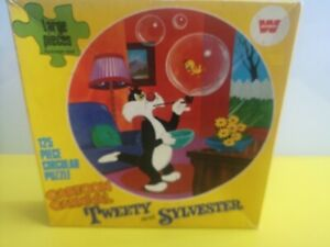 Vintage 1973 Whitman Sylvester And Tweety Jigsaw (Complete)