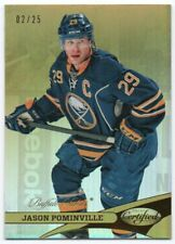 2012-13 Certified Mirror Gold 29 Jason Pominville 02/25 Buffalo Sabres