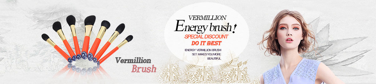 Energy Brand Makeup Brush