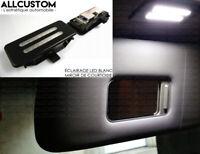 ECLAIRAGE LED BLANC MIROIR PARE SOLEIL pour BMW E87 E81 SERIE 1 03-11 M M1 120d