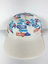 Vtg 90s Diet Pepsi You Got The Right One Baby All Over Print Snapback Hat '90-93