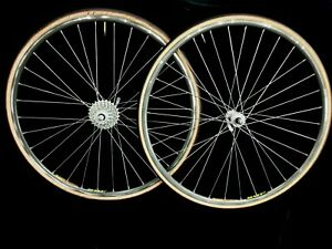 Mavic Open Pro SUP 32 holes CAMPAGNOLO 8 Speed Hubs, Clinchers vgc