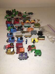 Bandai 2002/2004 Rare Lot Of 50 Thomas The Tank Engine Minitures Plastic. Rolls.