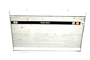 07 08 09 10 HYUNDAI SANTA FE AUDIO STEREO AMPLIFIER JBL INFINITY 96300-2B820
