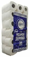 36 Luxury 3 Ply Super Jumbo Toilet Rolls ! Sent Royal Mail 48 Tracked ! Bargain