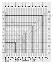 Creative Grids Stripology Squared  Non-Slip Quilting Acrylic Ruler CGRGE2
