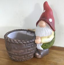 Latex Mould for making cute Gnome flowerpot/pot stand