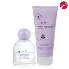 Jafra Tender Moments Lavender & Chamomile calming Baby Cologne + Body Cream Set