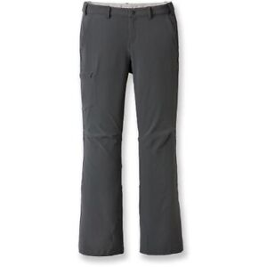 REI Sahara Roll Up Cargo Pants Women's size 8 Gray Hiking Camping Roll Cuff