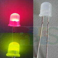 5pcs 5mm Auto Flash Flashing Red/Green 3v-6v-9v-12v Difused Led Light Bulb,RGF5