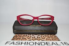New Roberto Cavalli Praslin Pink Gold 760 060 Optical 53-16-135 RX Eyeglasses