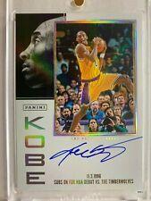 19/20 Contenders KOBE BRYANT AUTO Tribute #2 NBA DEBUT SP Los Angeles Lakers