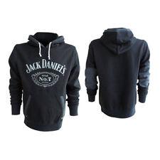 HD030080JDS-XL Jack Daniel's Classic Old No. 7 Extra Large Hoodie Noir