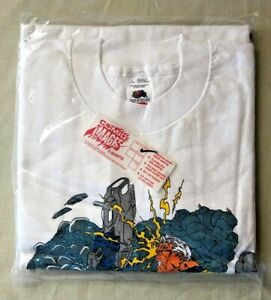 Vintage 1996 Marvel Comic Images Adult L T Shirt Cable X-Men NEW SEALED RARE!!!