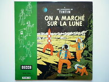 Tintin vinyle 25cm On A Marché Sur La Lune