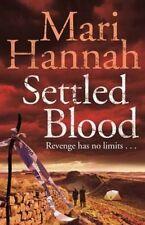 Settled Blood (Kate Daniels), Hannah, Mari, Very Good Book