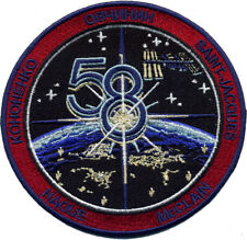 International Space Station - Expedition 58 Patch - 10cm Dia