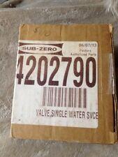 Sub-Zero Refrigerator Valve 4202790
