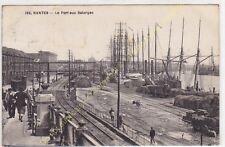 CPA 44000 NANTES le Port de Salorges animé Edit CHAPEAU ca1930