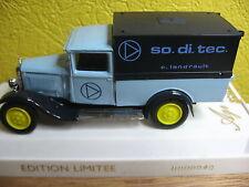 CITROEN C4F BACHEE EDITION LIMITEE NUMEROTEE SOLIDO 1981 SO.DI.TEC