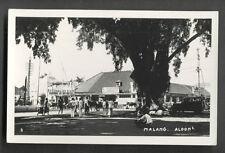 Malang rppc Cinema Aloon Aloon Java Indonesia 1933