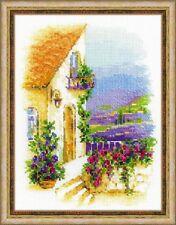 RIOLIS  1689  Rue de Provence  Broderie  Point de croix  Compté