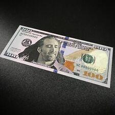 Nick Cage Fake Hundred Dollar Bill Money - Sticker