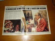 SALVADOR DALI AMANDA LEAR clipping articolo fotografia foto photo 1984 !