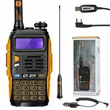 Baofeng Gt-3 TP MarkIII Tri-power 1/4/8w Uhf/vhf Talkie Walkie Program USB Câble