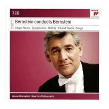 Leonard Bernstein/NYPO. - Leonard Bernstein Conducts Ambre 7 CD Classic NEUF