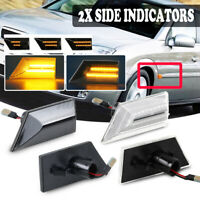 Dynamic LED Side Repeater Indicator Lights For Opel Vauxhall Vectra C